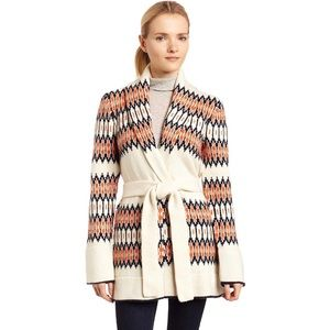 LUCKY Brand Woodland Fair Isle Cardigan